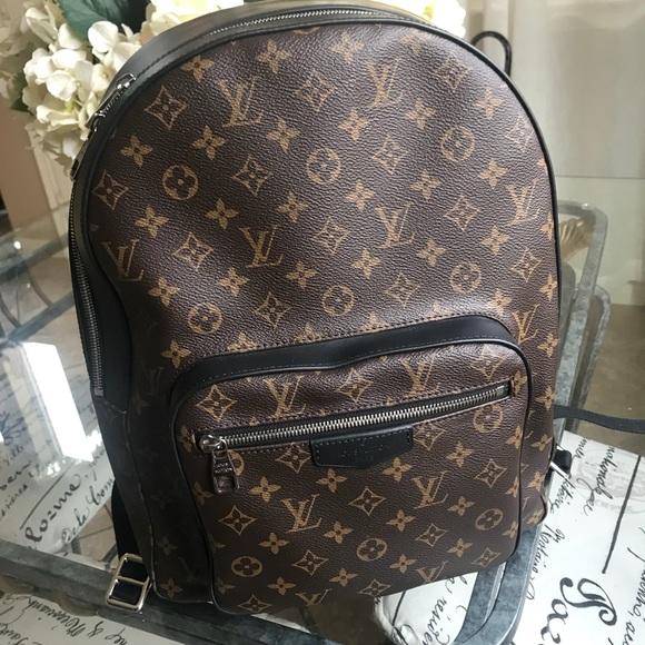 Nike Duffel Bag meet 73462 9dae7  Louis Vuitton Josh backpack. official  photos bd980 7bbea ... fe9809725a